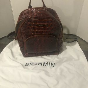 Brahmin backpack purse